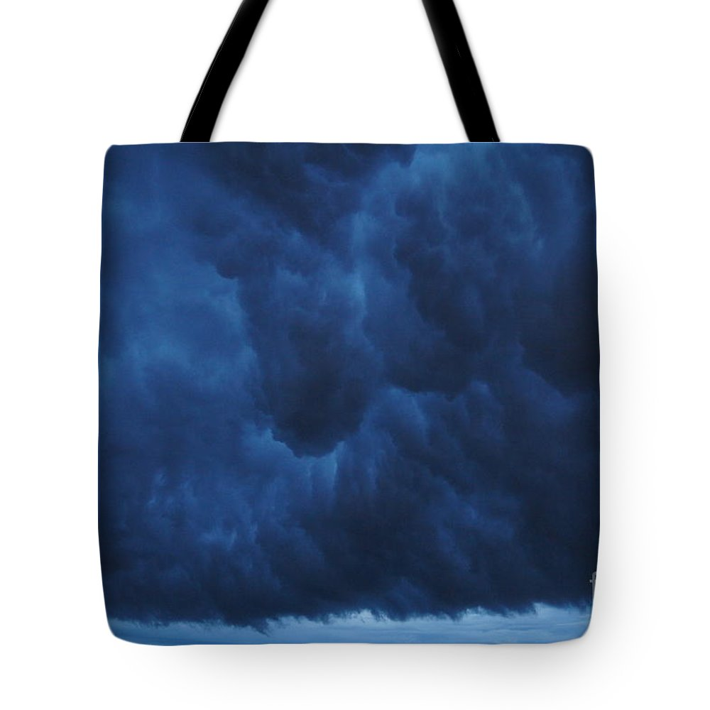 Fast Moving Storm Tote Bag featuring the photograph Storm by Jeffery L Bowers