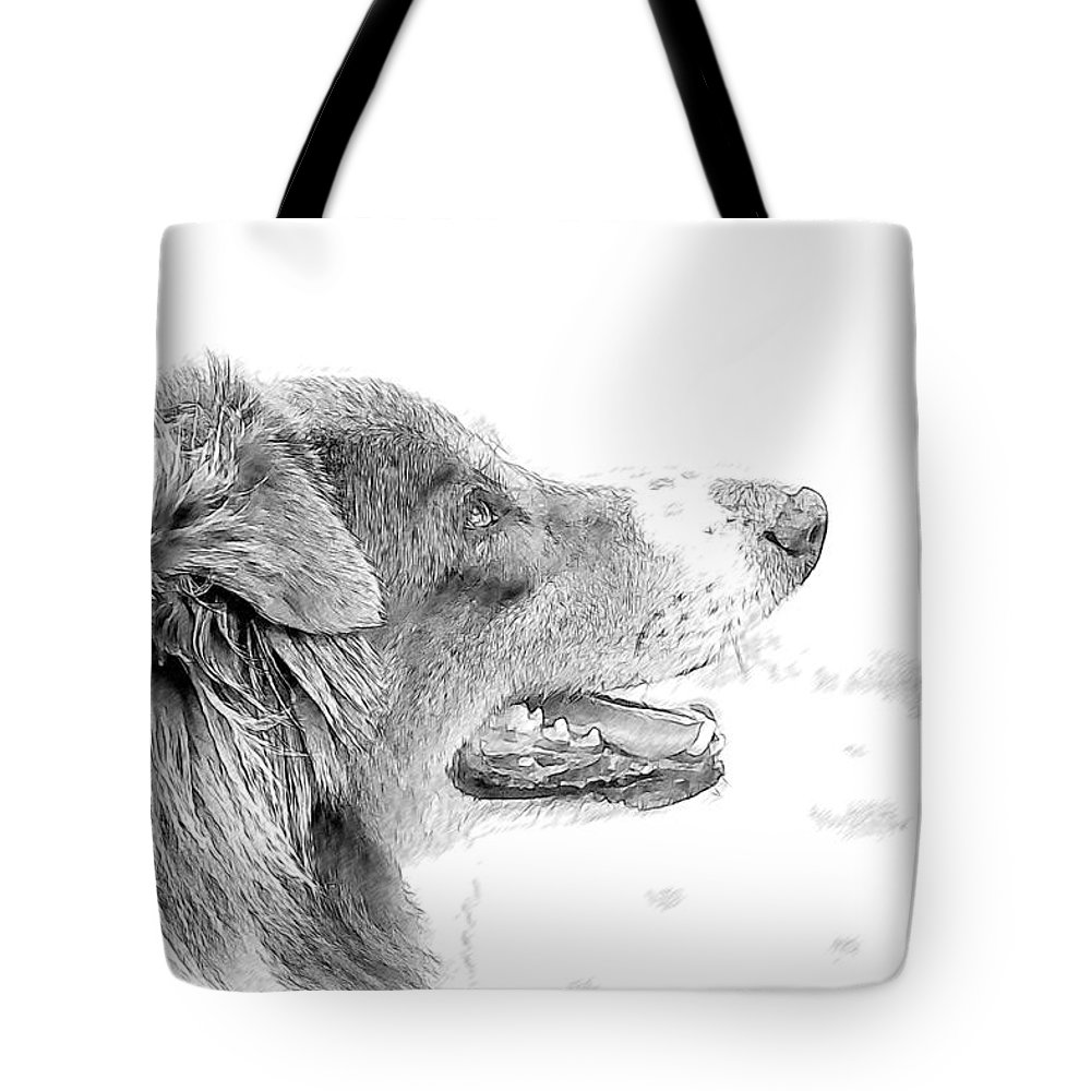 Dog Tote Bag featuring the photograph Sweet Puppy by Alice Gipson