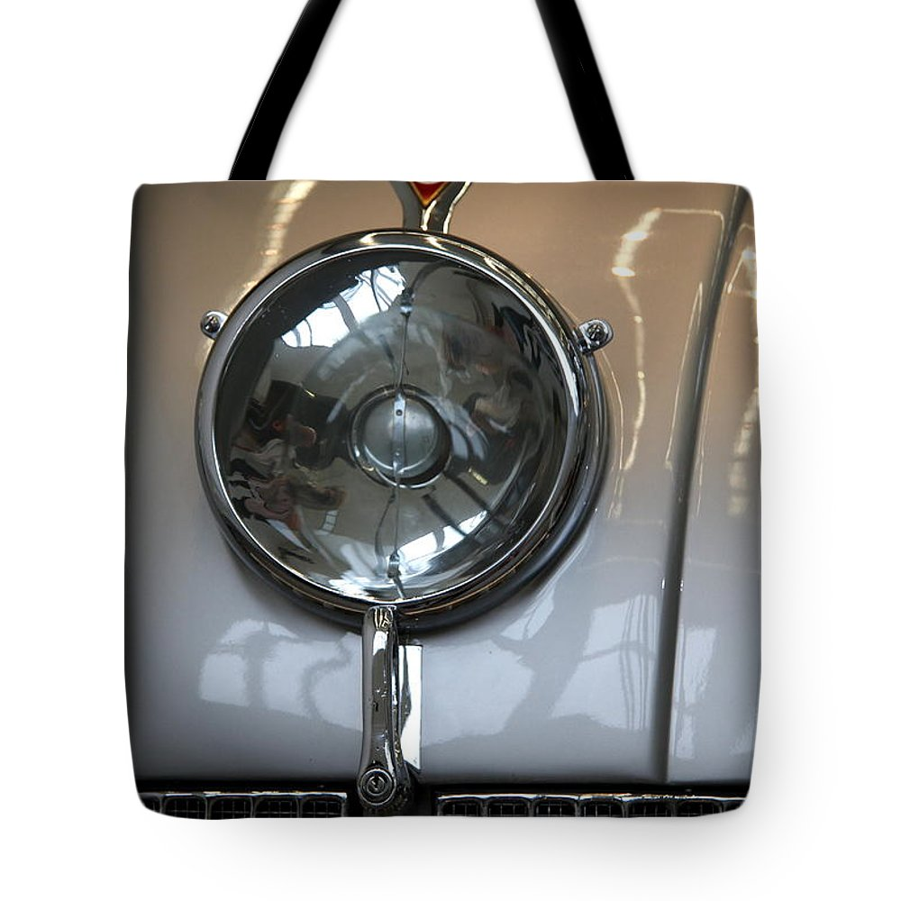 Tatra 87 Tote Bag featuring the photograph Tatra 87 High Beam by Christiane Schulze Art And Photography