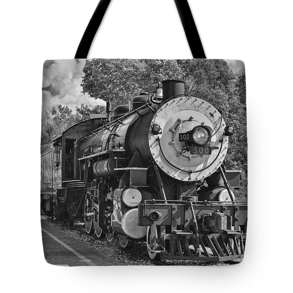 Brakeman Tote Bag featuring the photograph The Brakeman by Robert Frederick