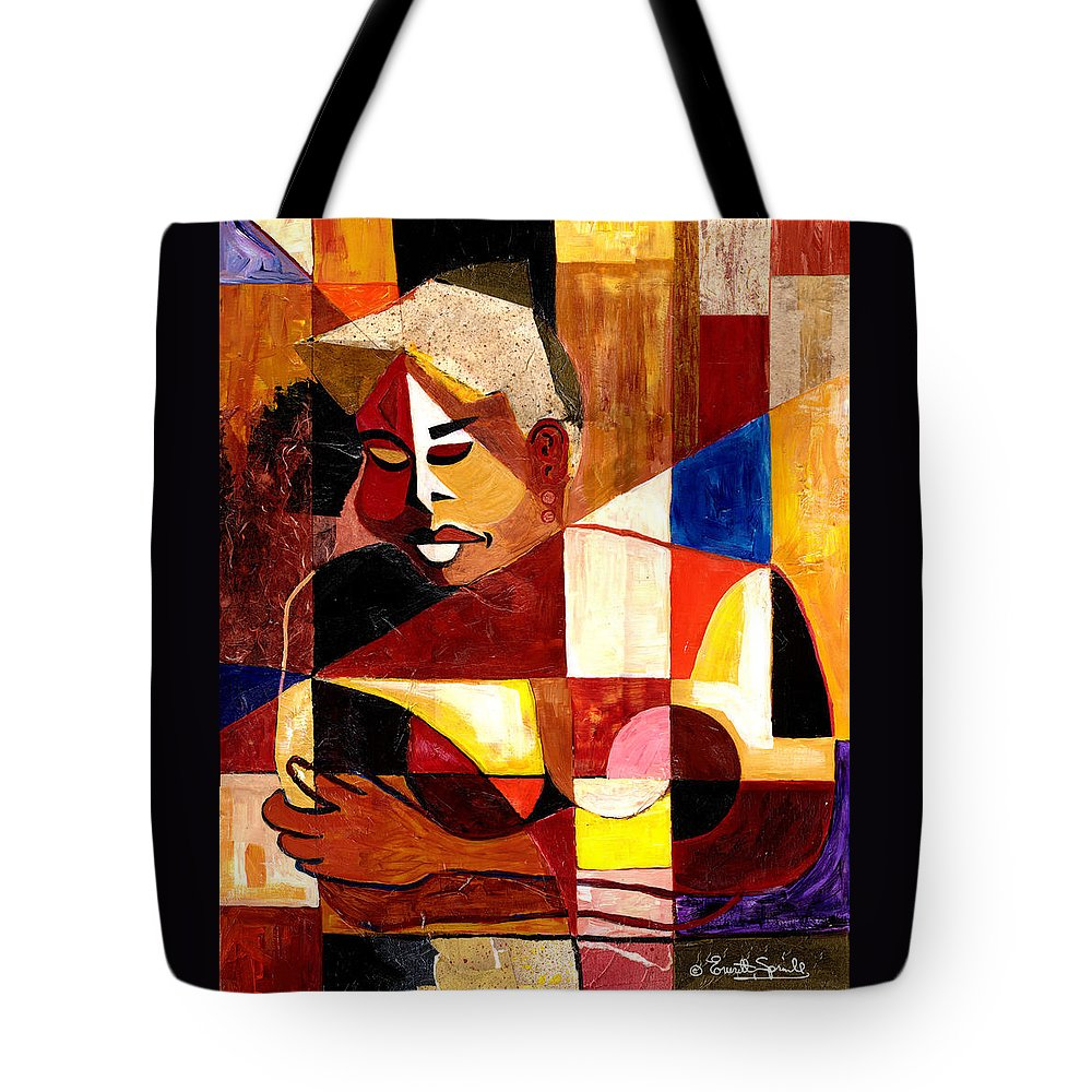 Everett Spruill Tote Bag featuring the painting The Matriarch - Take 2 by Everett Spruill