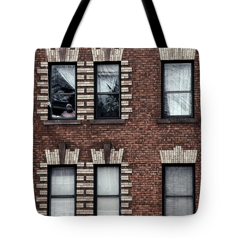 The View Tote Bag featuring the photograph The View From Here by Gregory Alan