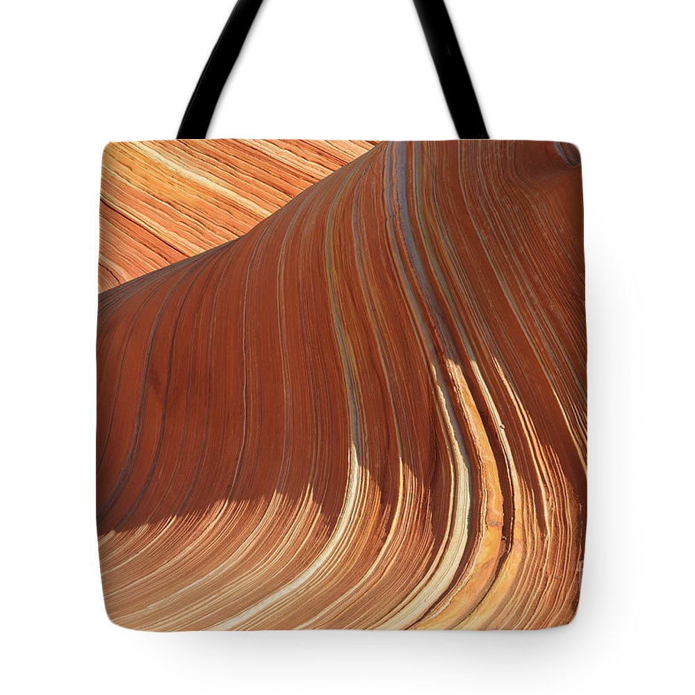 Bizarre Tote Bag featuring the photograph The Wave In The North Coyote Buttes by Henk Meijer Photography