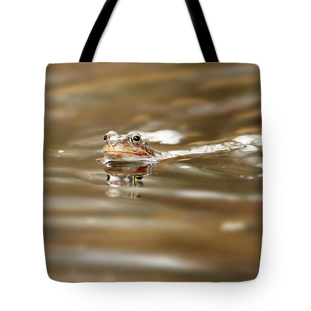 Toad Tote Bag featuring the photograph Toad by Heike Hultsch