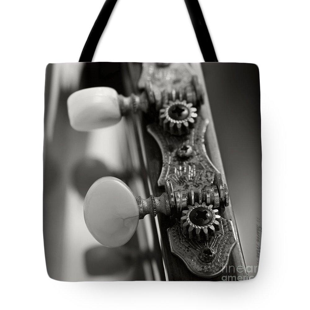 Aloha Tote Bag featuring the photograph Ukulele by Sharon Mau