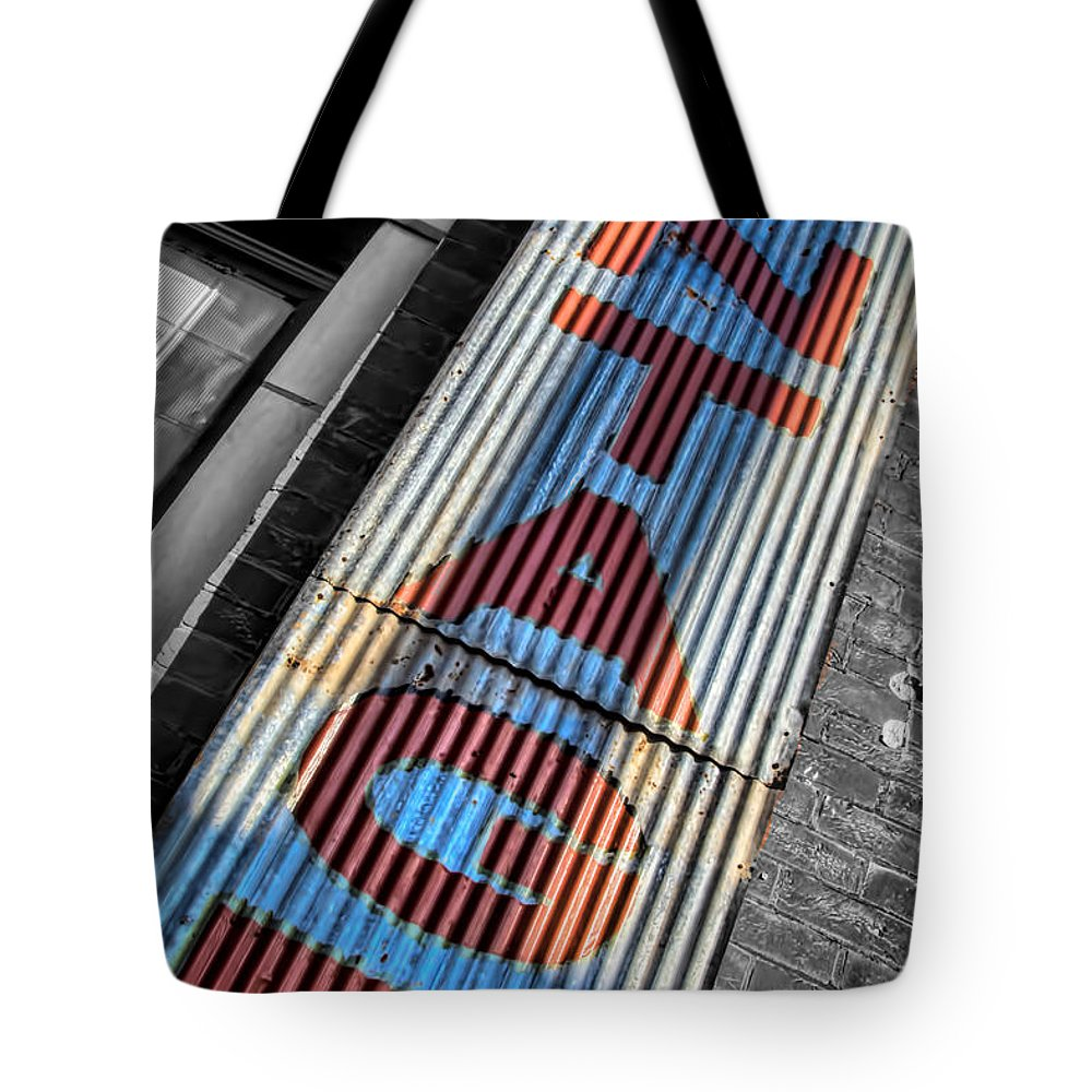 Selective Color Tote Bag featuring the photograph V I N T A G E by Deb Buchanan