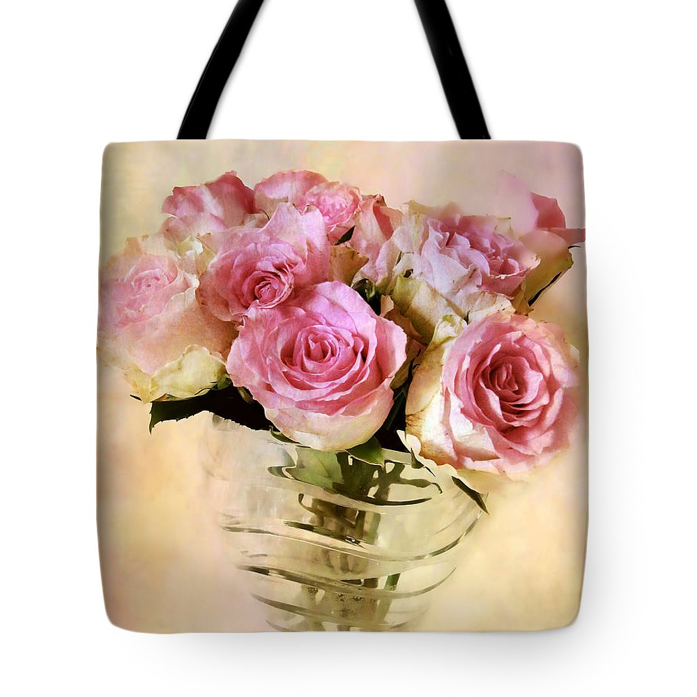 Roses Tote Bag featuring the photograph Watercolor Roses by Jessica Jenney
