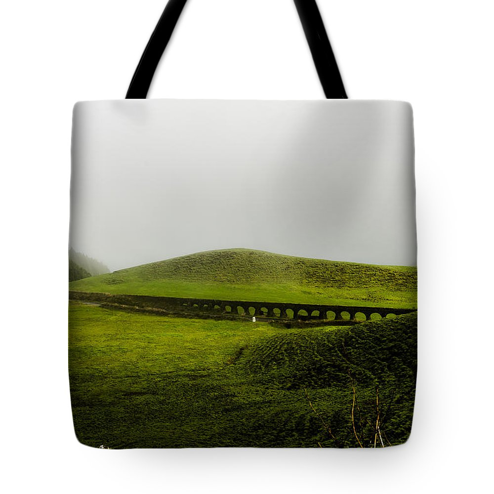 Art Tote Bag featuring the photograph When The Romans Came by Joseph Amaral