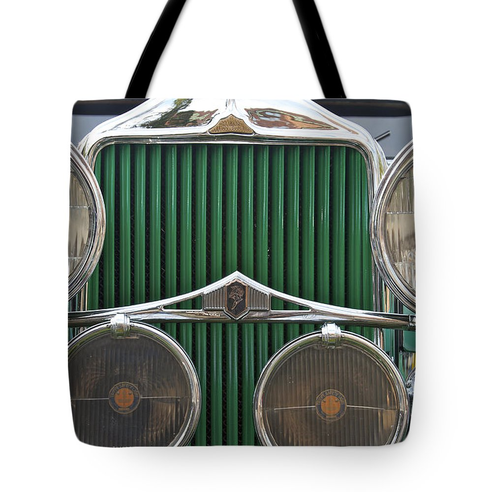 Antique Tote Bag featuring the photograph Willis Knight by Jack R Perry