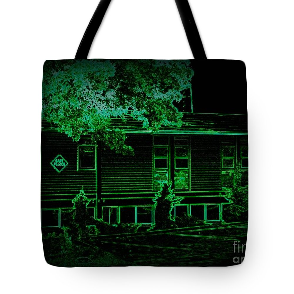 Tote Bag featuring the photograph Youth In Need Safe Place by Kelly Awad