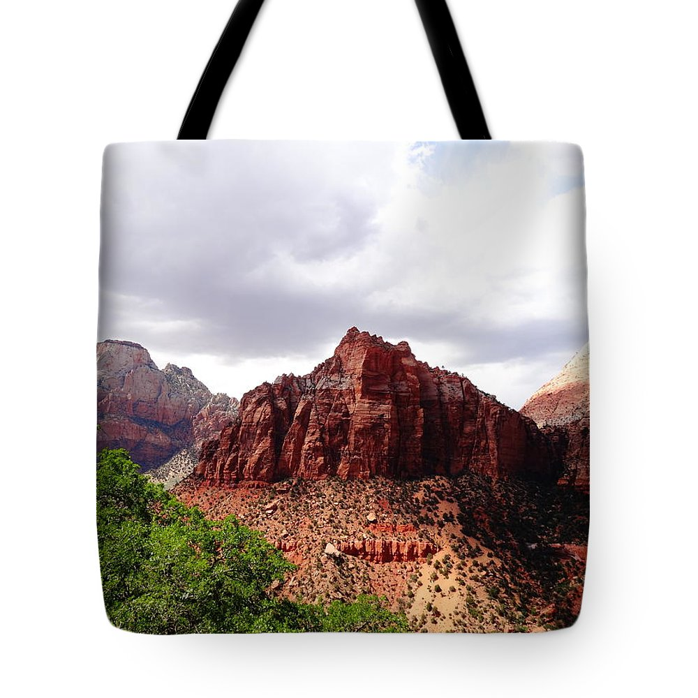 Zion Photographs Tote Bag featuring the photograph Zion by Dan Sproul