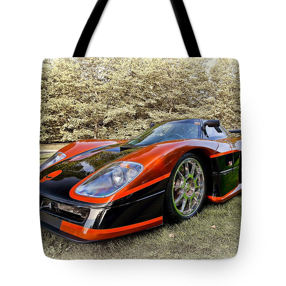 Transportation Tote Bag featuring the photograph 2007 Mongoose by Marcia Colelli