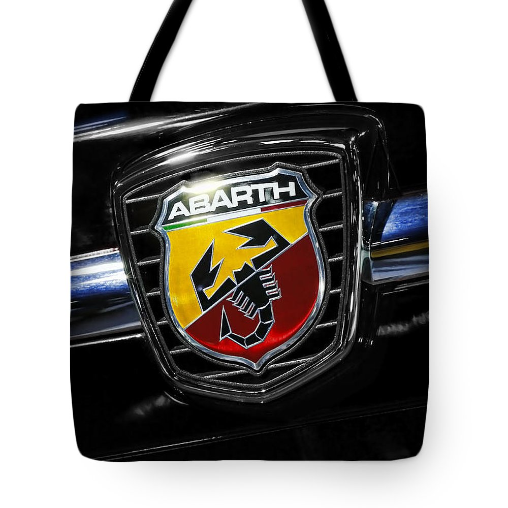 2012 Tote Bag featuring the photograph 2013 Fiat 500 Abarth by Gordon Dean II