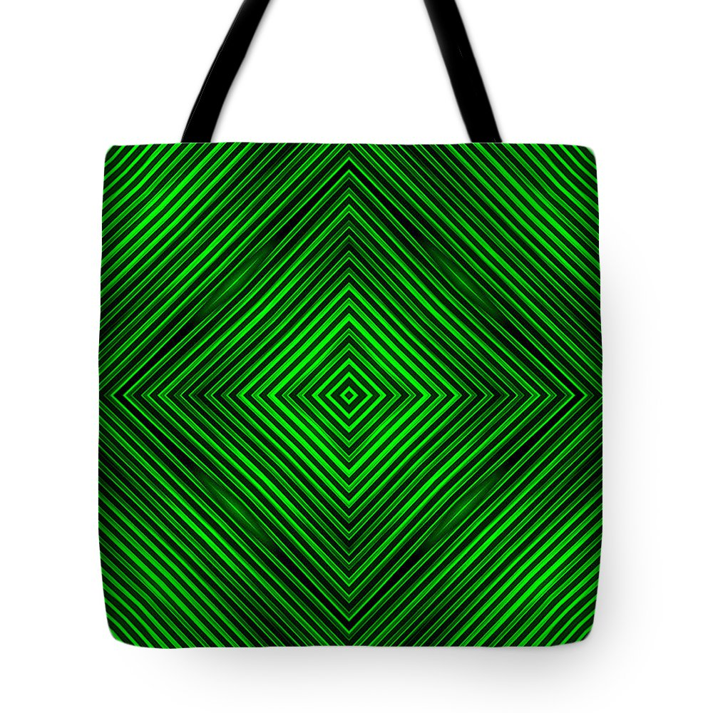 Abstract Tote Bag featuring the digital art Abstract by Dan Radi