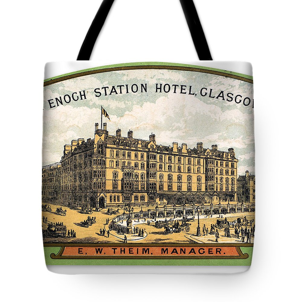 20th Century Tote Bag featuring the photograph Luggage Label by Granger