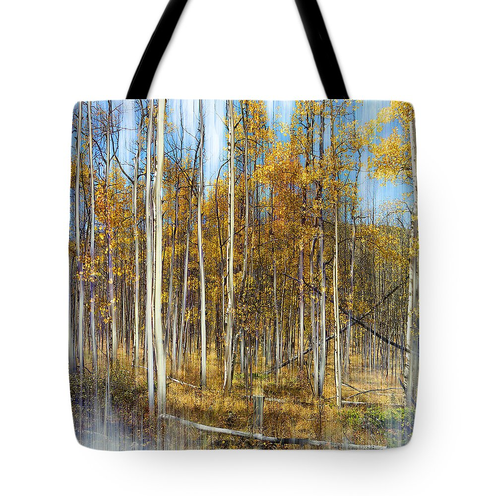 Trees Tote Bag featuring the photograph 2501 by Peter Holme III