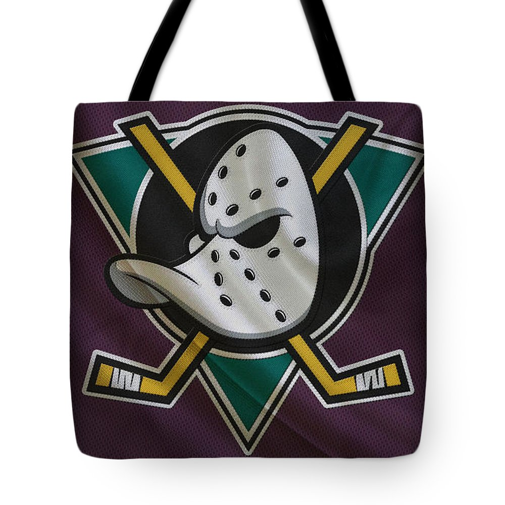 Ducks Tote Bag featuring the photograph Anaheim Ducks by Joe Hamilton
