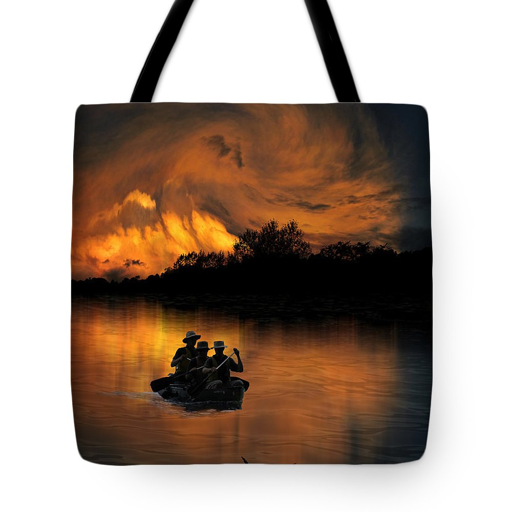 Men Tote Bag featuring the photograph 2667 by Peter Holme III