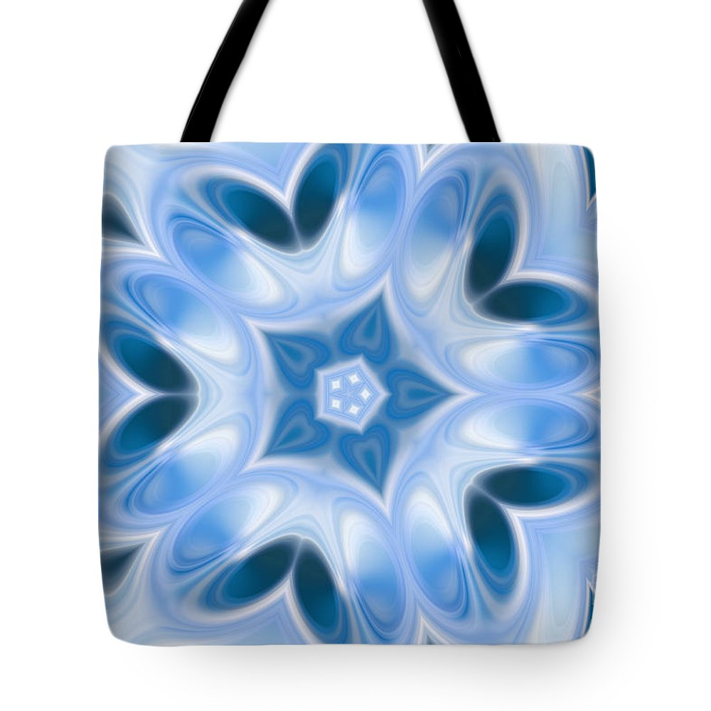Art Tote Bag featuring the digital art Abstract by Dan Radi