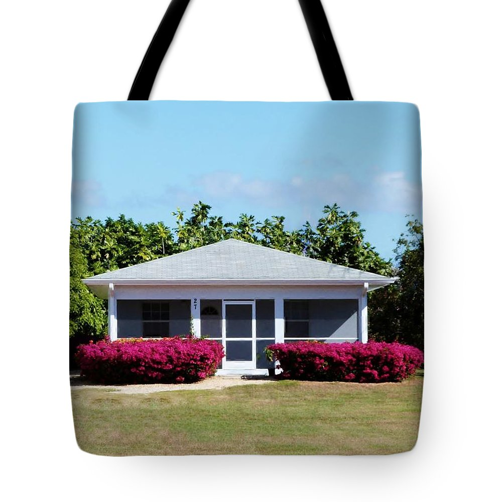 Picturesque Cozy Island Cottage Tote Bag featuring the photograph 27 Cottage by Amar Sheow
