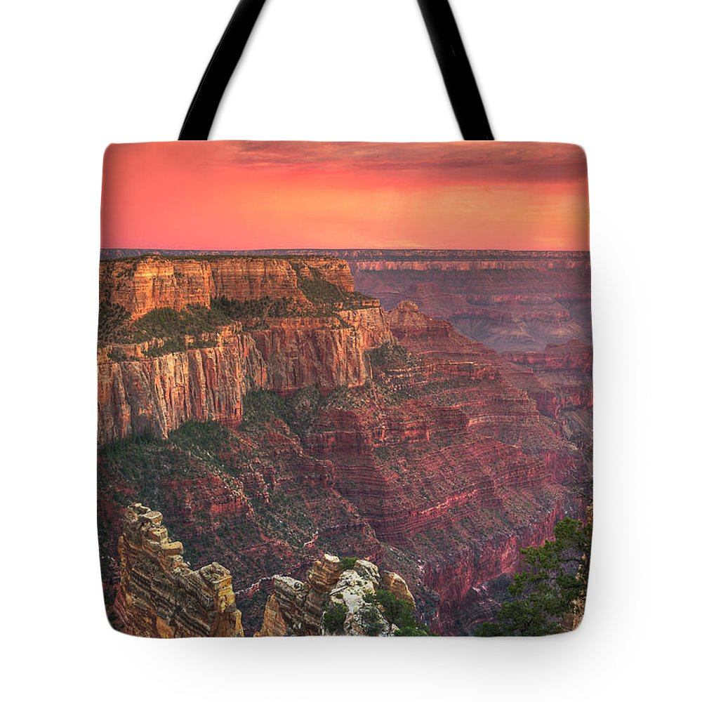 Tranquility Tote Bag featuring the photograph Grand Canyon National Park by Michele Falzone