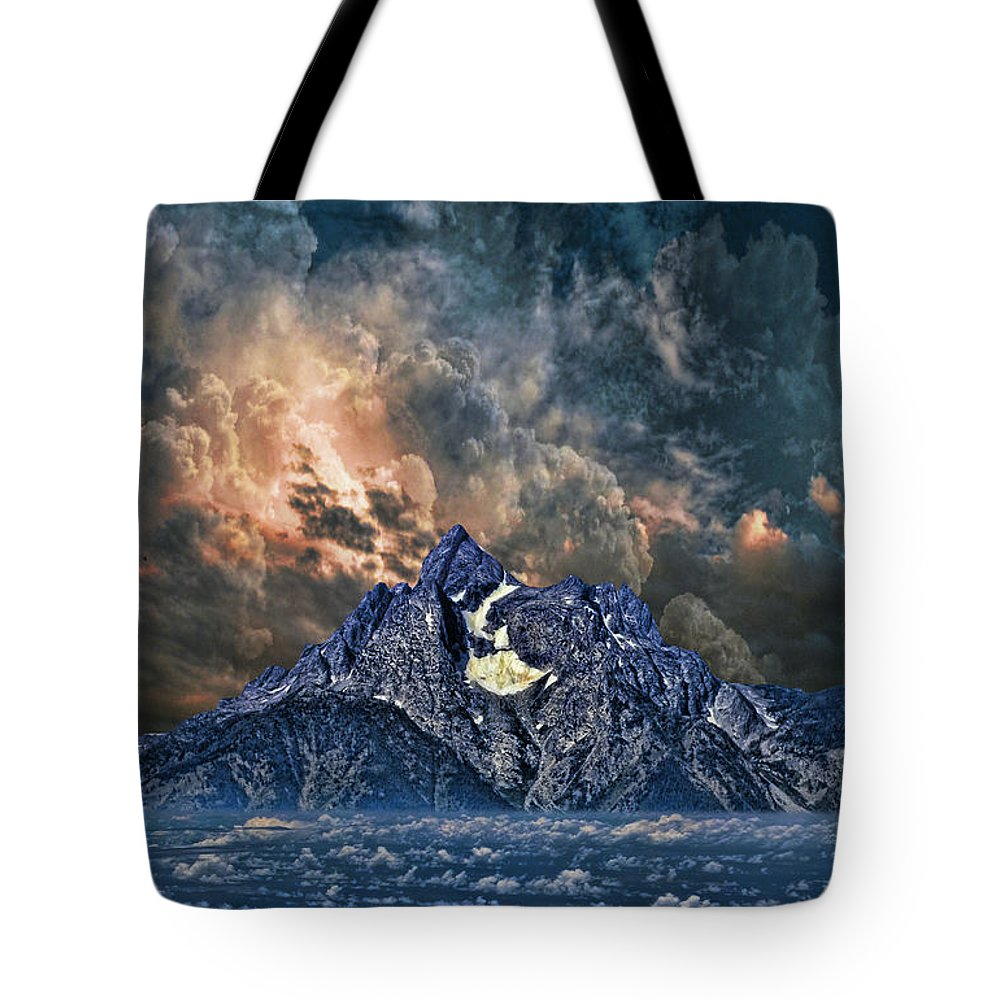 Mountains Tote Bag featuring the photograph 2854 by Peter Holme III