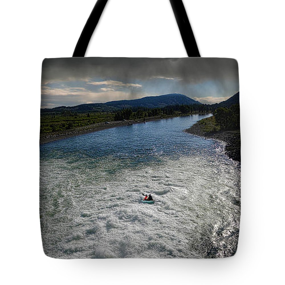 River Tote Bag featuring the photograph 2892 by Peter Holme III