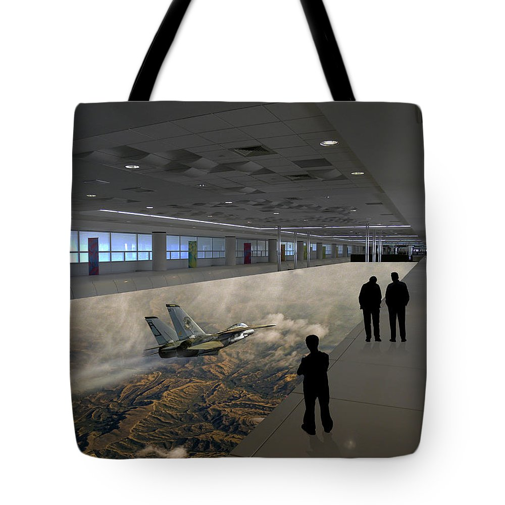 Building Tote Bag featuring the photograph 2938 by Peter Holme III