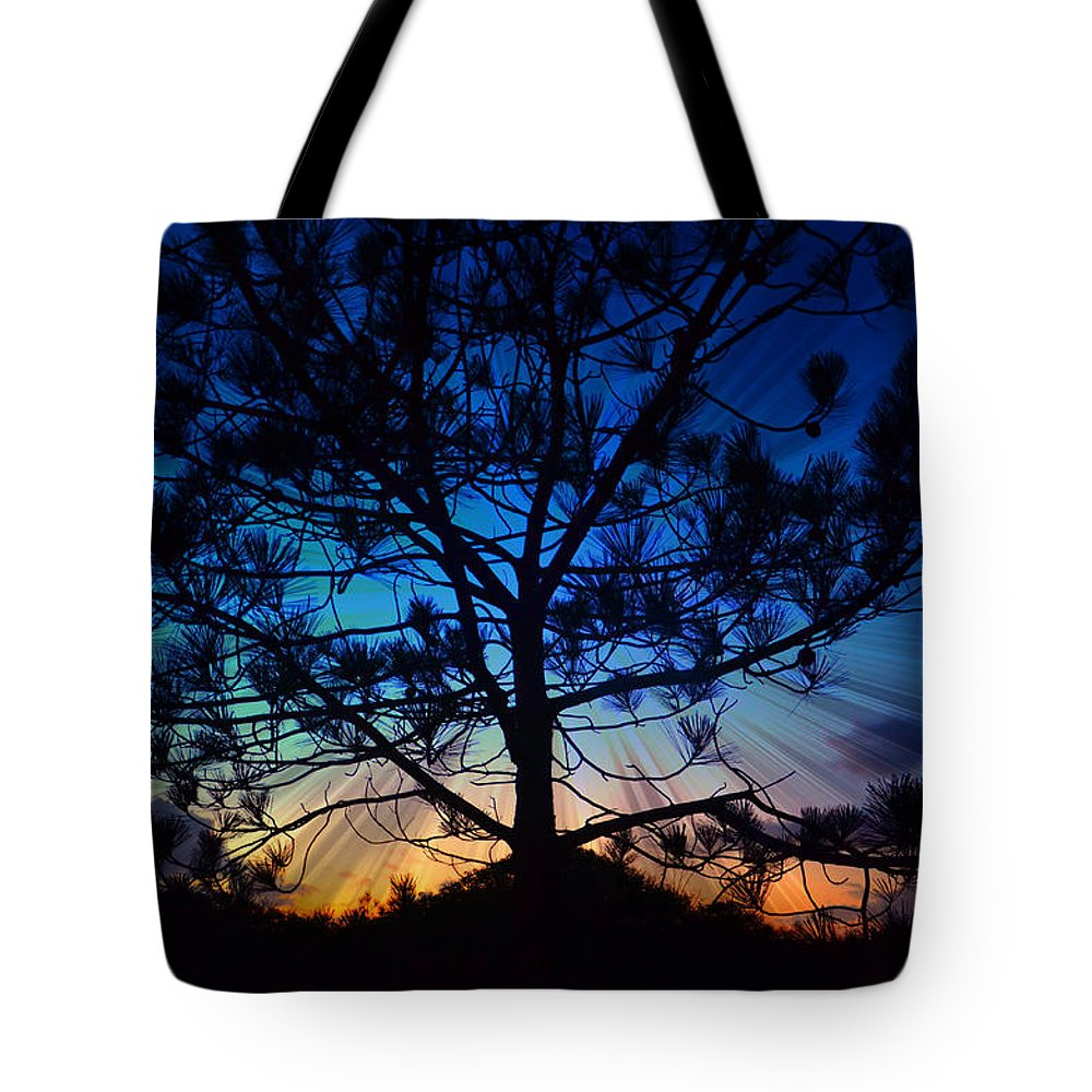 Pine Tree Tote Bag featuring the photograph 2nd Day Of Christmas by Sharon Tate Soberon