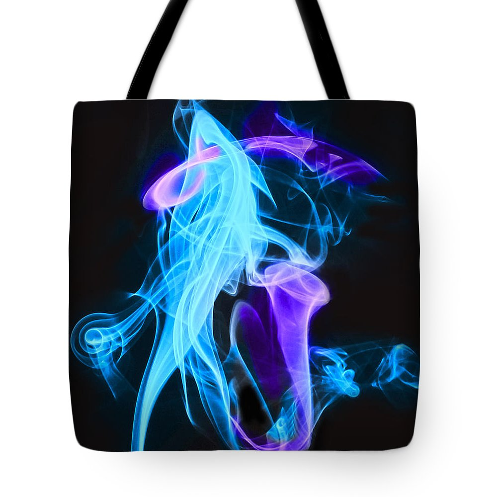 Abstract Tote Bag featuring the photograph Abstract by Eleanor Bortnick