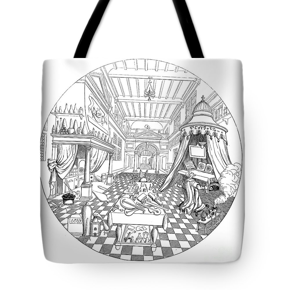 16th Century Tote Bag featuring the photograph Alchemist by Granger