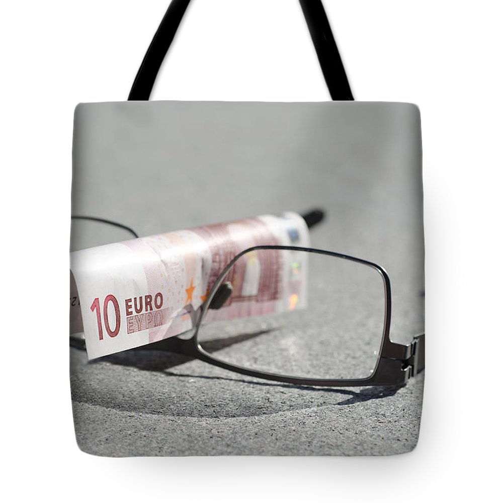 Money Tote Bag featuring the photograph Business by Mats Silvan