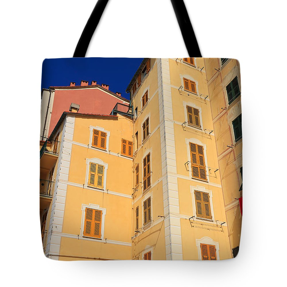 Ancient Tote Bag featuring the photograph Camogli - Italy by Antonio Scarpi