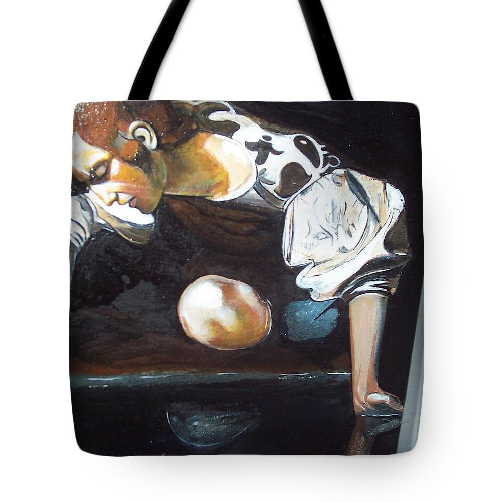 Tote Bag featuring the painting Detail by Jude Darrien