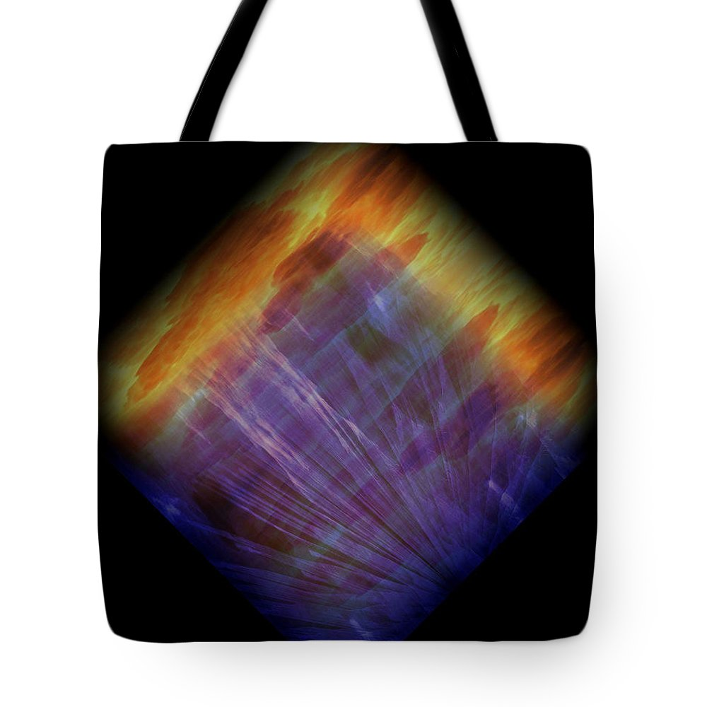Original Tote Bag featuring the painting Diamond 215 by J D Owen