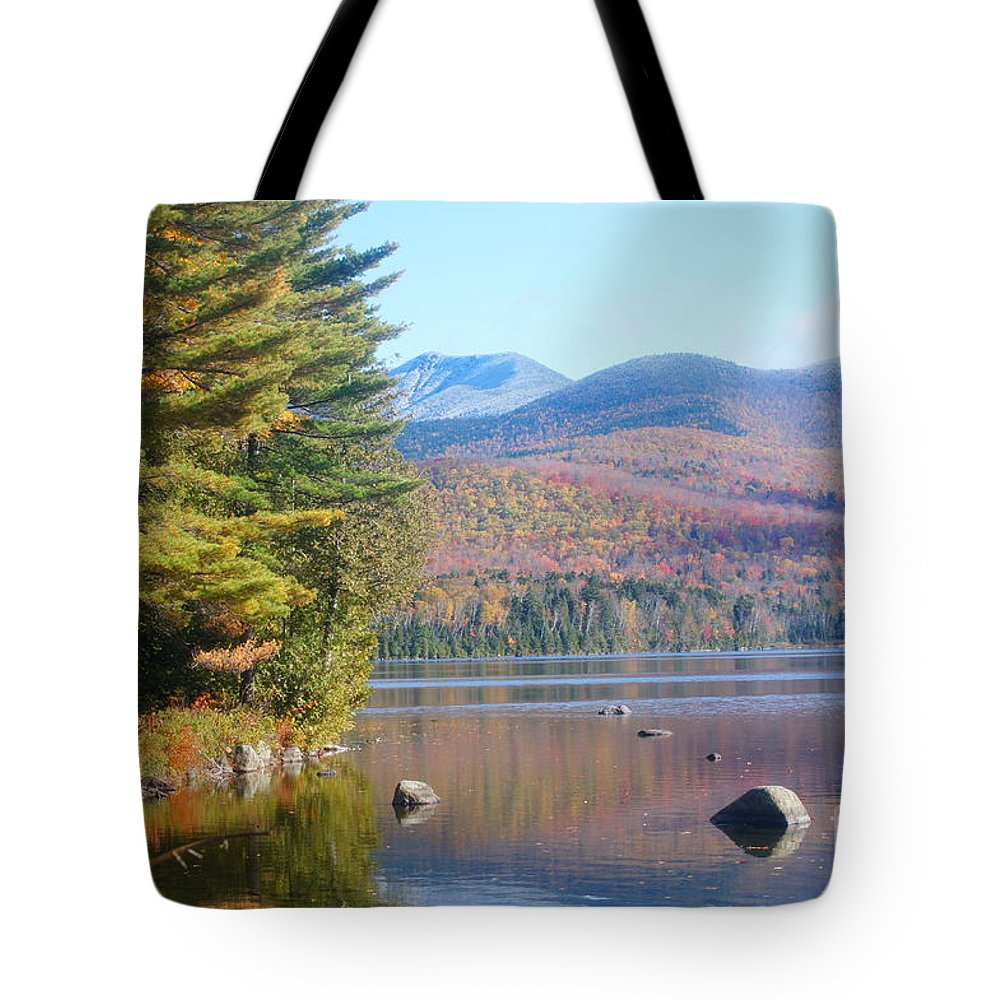 Lakes Tote Bag featuring the photograph Crystal Lake by Jeffery L Bowers