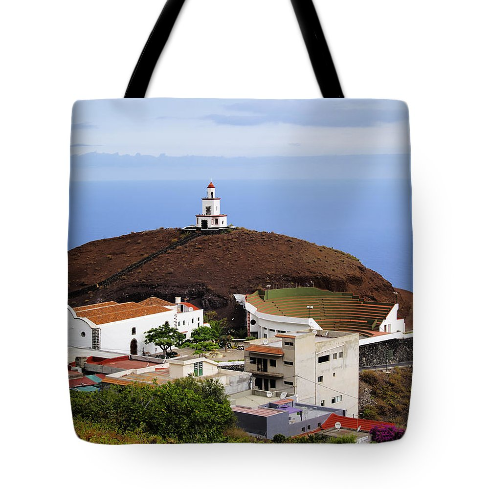 Hierro Tote Bag featuring the photograph Frontera Region On Hierro by Karol Kozlowski