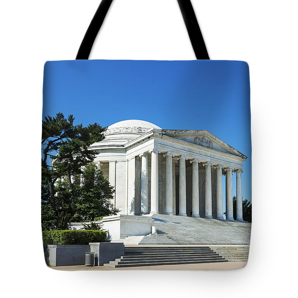 Jefferson Memorial Tote Bag featuring the photograph Jefferson Memorial by John Greim