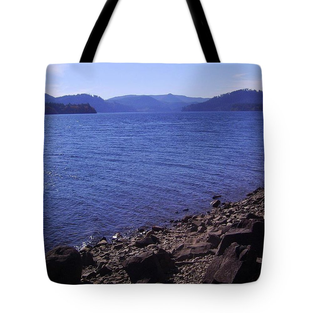 Bloom Tote Bag featuring the photograph Lakes 2 by J D Owen