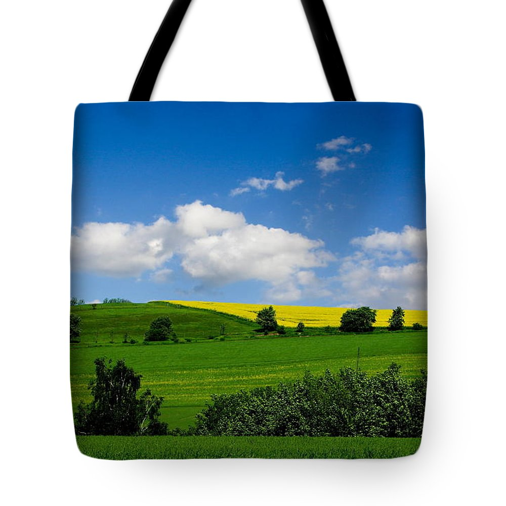 Forest Tote Bag featuring the photograph Landscape by Heike Hultsch