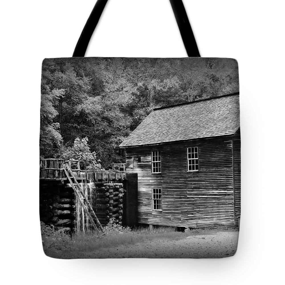 Mingus Mill Tote Bag featuring the photograph Mingus Mill by Stephen Stookey