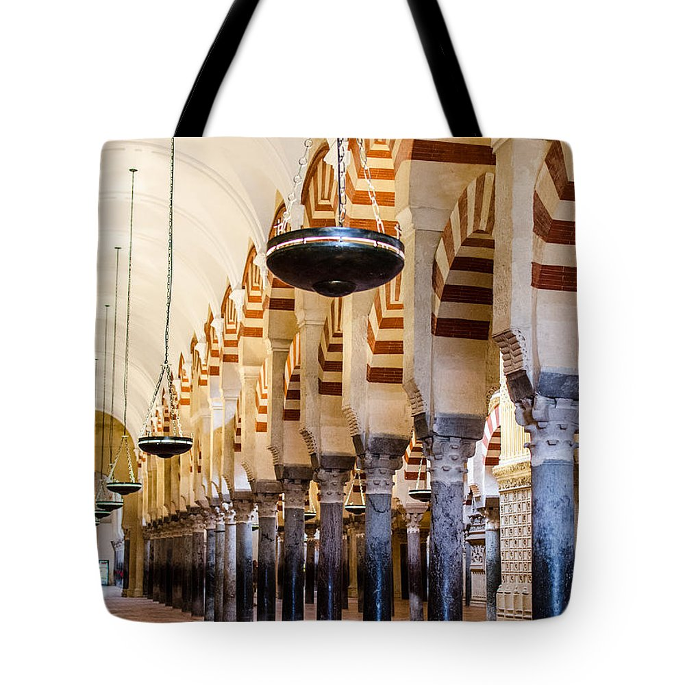 Cordoba Tote Bag featuring the photograph Mosque Cathedral Of Cordoba by Andrea Mazzocchetti