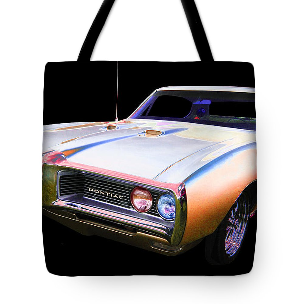 1968 Pontiac Le Mans Tote Bag featuring the photograph Pontiac by Allan Price