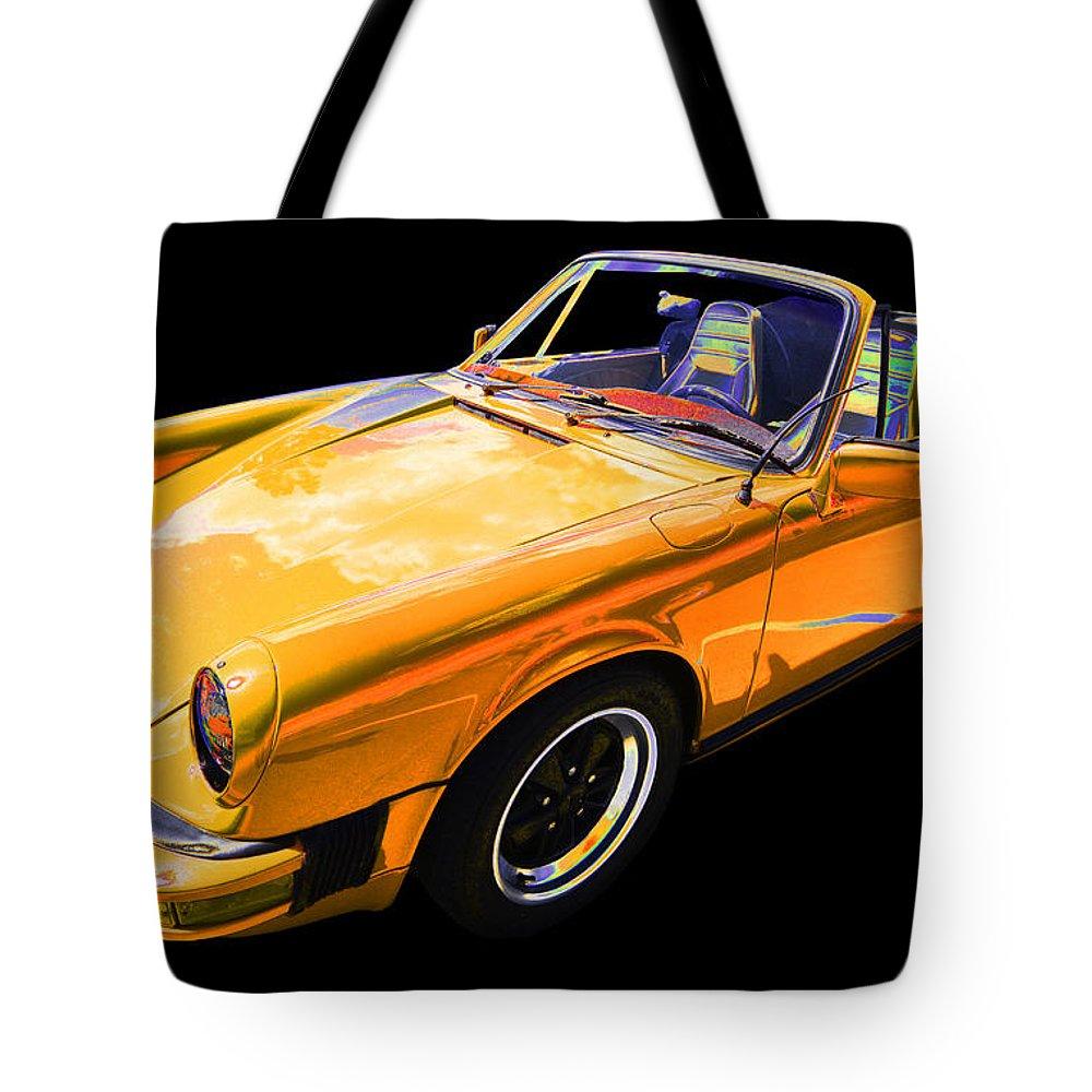 1978 Porsche 911 Tote Bag featuring the photograph Porsche by Allan Price