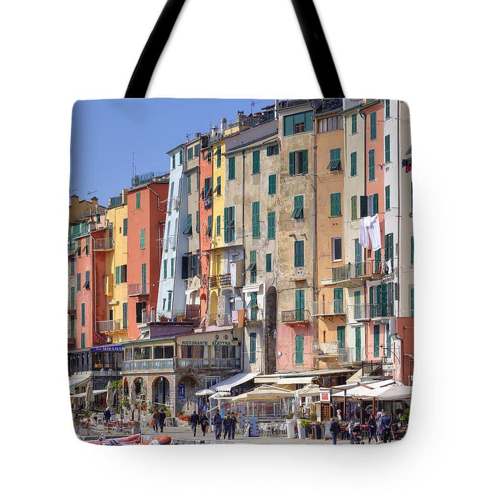 Porto Venere Tote Bag featuring the photograph Porto Venere by Joana Kruse