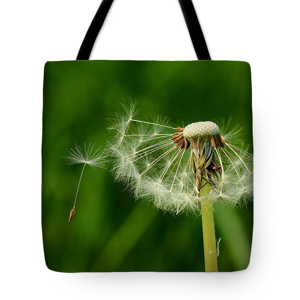 Drops Tote Bag featuring the photograph Spring Feelings by Heike Hultsch