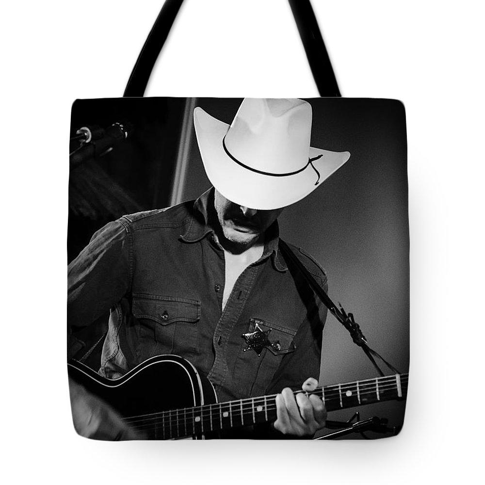 Guitar Tote Bag featuring the photograph Stella Burns by Andrea Mazzocchetti