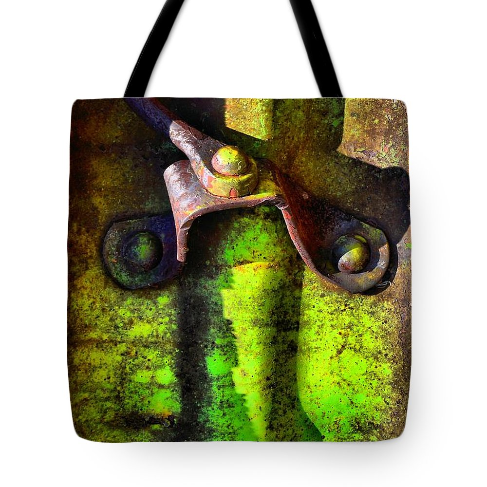 Abstract Tote Bag featuring the photograph Synapse by Lauren Leigh Hunter Fine Art Photography