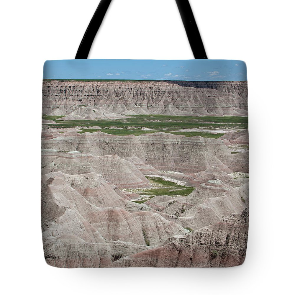 America Tote Bag featuring the photograph The Badlands by Scott Sanders