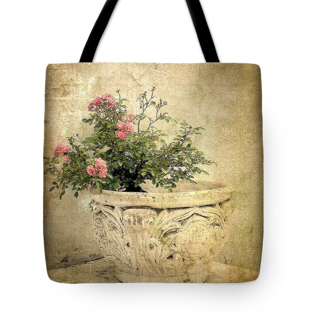 Flowers Tote Bag featuring the photograph Vintage Blossom by Jessica Jenney